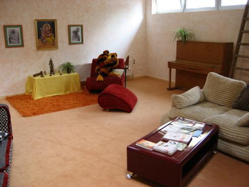 Neue Yoga – Räume im Haus Yoga Vidya Bad Meinberg    Yoga Vidya