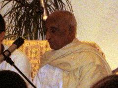 Shri Karthikeyan im Haus Yoga Vidya Bad Meinberg