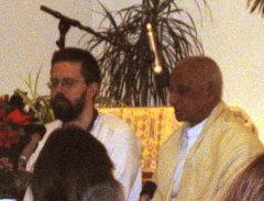 Shri Karthikeyan im Haus Yoga Vidya Bad Meinberg, übersetzt von Klaus