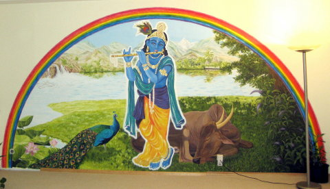 Krishna im Yoga Vidya Center Köln