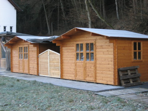 Neue Hütten Haus Yoga Vidya Westerwald