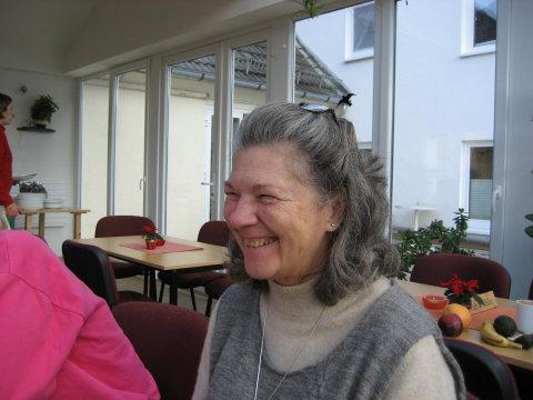 Padmakshi, Leiterin des Hauses Yoga Vidya Westerwald
