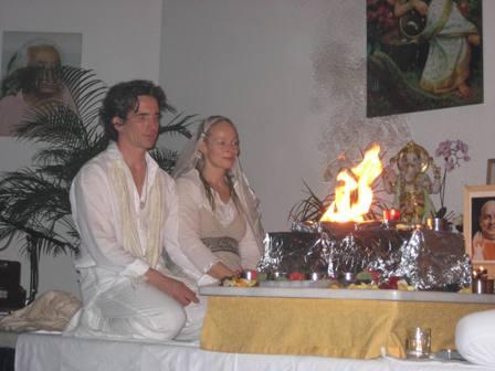 Uma und Ramdas Hochzeit