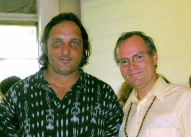 Markus Stück und sukadev beim Yoga Vidya Kongress