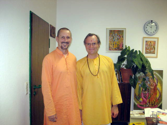 Swami Bodhichidananda und Sukadev