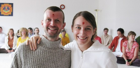 Hridaya und Amari, neue Yoga Vidya Acharyas