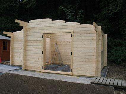 Wohlfühlhaus im Bau