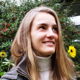 Carlotta, Mitarbeiterin bei Yoga Vidya