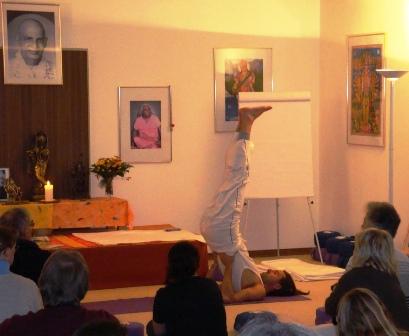 Yoga Vidya Nordsee Vorführung