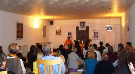 Yoga Vidya Nordsee Vortrag