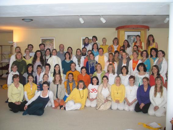 Gruppenfoto mit Padmakshi