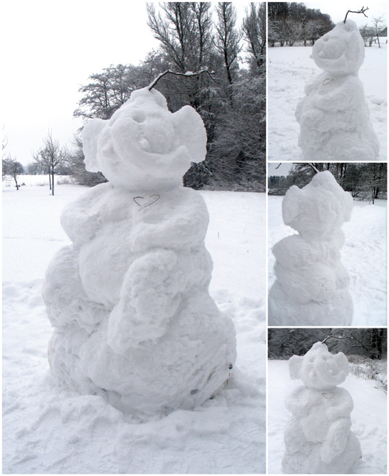 Ganesha im Schnee