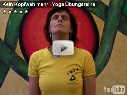 Yogavideo Kopfschmerzen