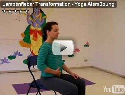 Yoga Video Lampenfieber
