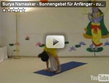 Yoga Video Sonnengruss für Anfänger