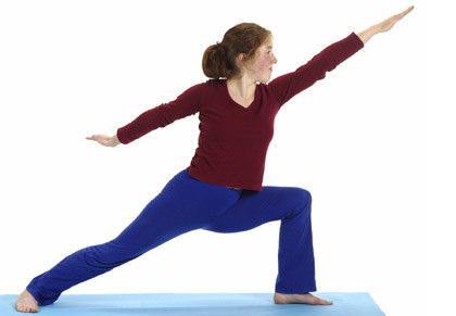 Yogaübung Held