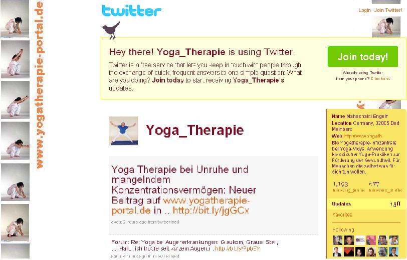 yogatherapie bei twitter