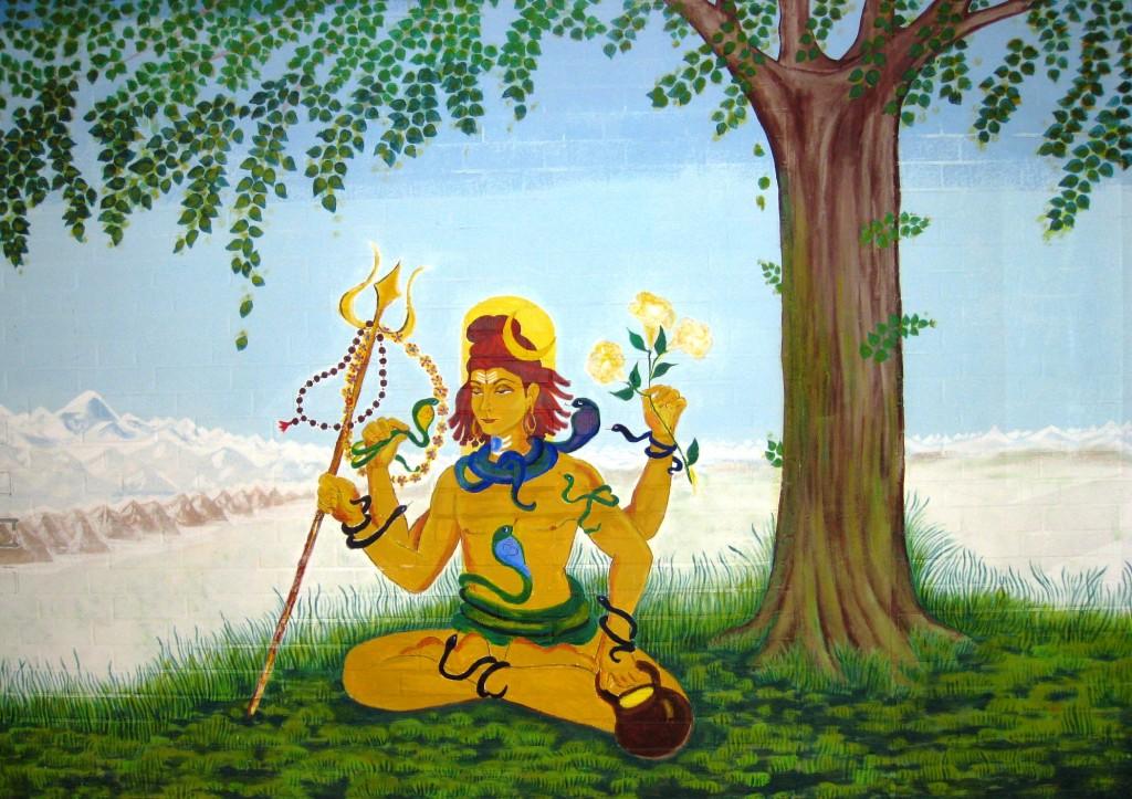Shiva - Gemälde von Narayani