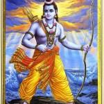 Rama verkörpert die Herabkunft Gottes auf die Erde
