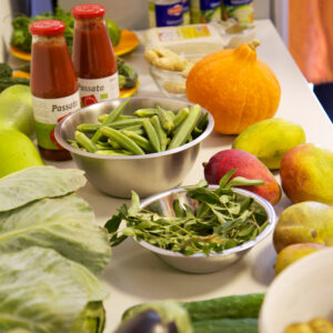 Zutaten ayurvedisch vegan Kochen