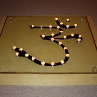 Diwali Om Zeichen für Frieden auf der ganzen Welt