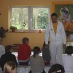 Viele interessierte Gäste kamen zu den Yogastunden