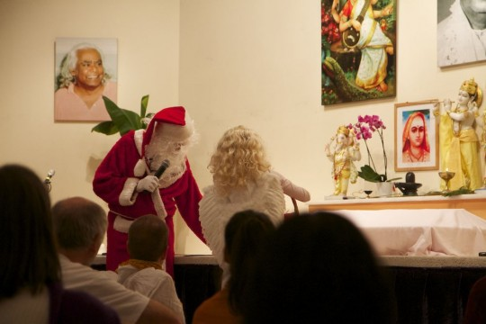08 Christkind und Weihnachtsmann
