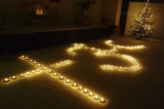 17 Lichterzeremonie