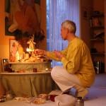 Sitaram im Krishnaraum