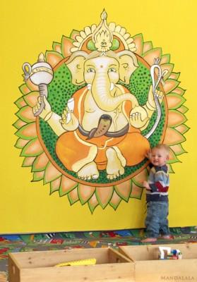 Ganesha Kinderebene Yoga Vidya