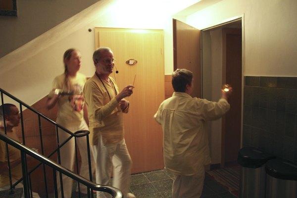 Weihung der Zimmer