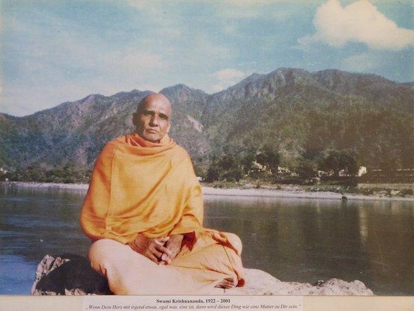 Swami Krishnananda, langjähriger Leiter des Sivananda Ashrams Rishikesh