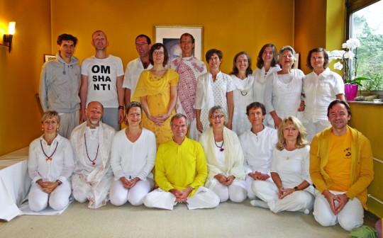 Gruppenfoto, Meditations Lehrer Ausbildung  2013