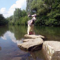 » fotoshow asana praxis im freien  yoga vidya blog