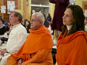 17_Sukadev, Amrta Suryananada und Swamini Chandra Devi