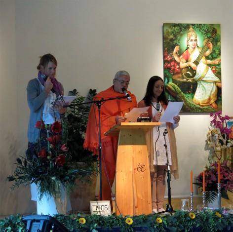Swami Amrta Suryananda von der Portugiesischen Yoga Vereinigung