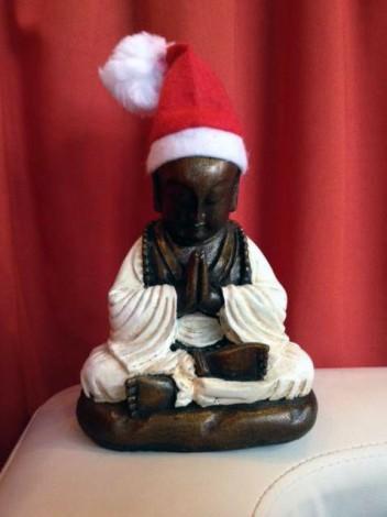 Weihnachtsbuddha