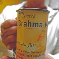 Brahma Vidya e.V. Spendenbox