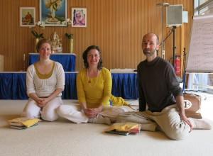 Carolin, Katyayani & Markus