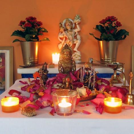 Ehrerbietung zu Hanuman Jayanti