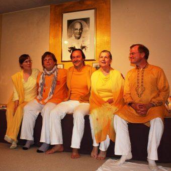 """Yoga Vidya """"Ahnenreihe"""", Ashramleiter (u.a. a.D. )"""