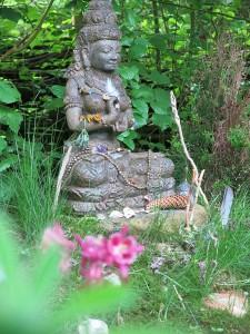 Meditation bei Yoga Vidya Bad Meinberg