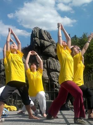 Yoga Externsteine
