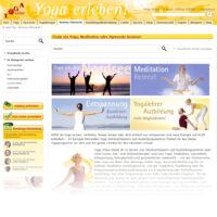 Yoga Vidya-Seminarsuche