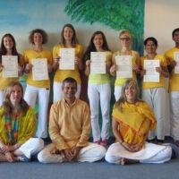 Yoga Teachers Class 2015