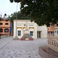 Bhajan Hall (seit 1943 ununterbrochen tägliches Maha-Mantra-Singen, 24 stündig)