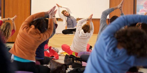 Business Yoga Kongress mit Kerstin Linnartz