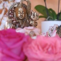 Altar für die Mantra-Rezitation
