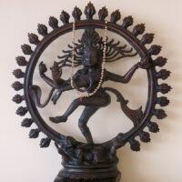 Shiva (Nataraja) Murti im Shivalaya