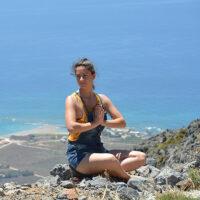Yoga über Falassarna